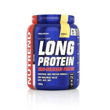 Nutrend nápoj Long Protein 1000g vanilka