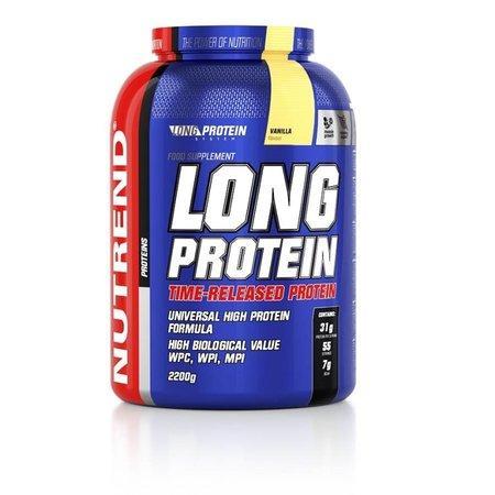 Nutrend nápoj Long Protein 2200g vanilka