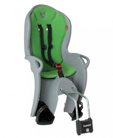 Hamax sedačka KISS šedo/zelená