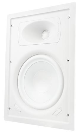 "TRUAUDIO Ghost GPW-6 - In-wall reproduktor, výkon 100 W, 6,5"" bílý poly woofer, 8 ohm"
