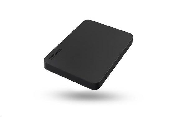 "TOSHIBA HDD CANVIO BASICS USB-C 1TB, 2,5"", USB 3.2 Gen 1, černá / black, HDTB410EKCAA"