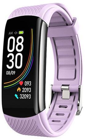 Wotchi Fitness náramek s teploměrem WT12P - Purple