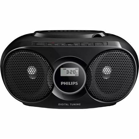 Radiopoijímae s CD Philips AZ318B, eerný