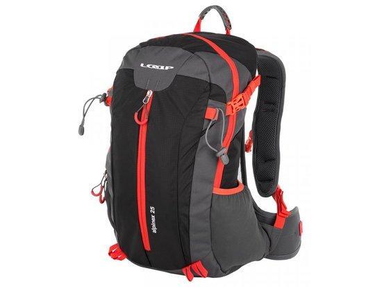 Loap batoh ALPINEX 25 černo/červený