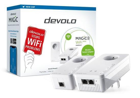 devolo Magic 2 WiFi next Starter Kit 2400mbps, 8621