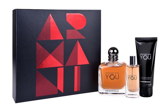 Armani Emporio Stronger With You - EDT 100 ml + EDT 15 ml + sprchový gel 75 ml