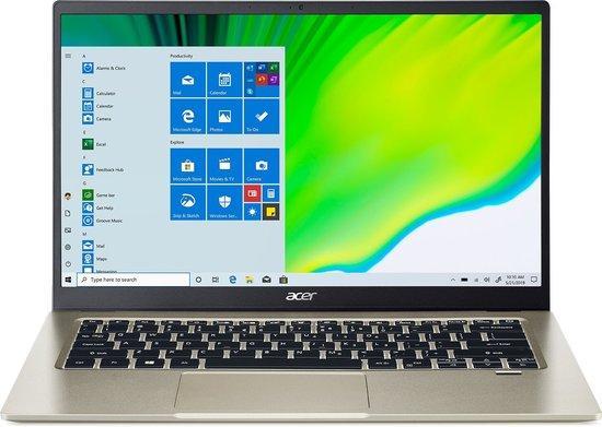 "Acer Swift 1 (SF114-33-P0JZ) Pentium N5030/8GB+N/A/256GB SSD+N/A/HD Graphics/14"" FHD IPS LED matný/W10 Home/Gold , NX.HYNEC.001"