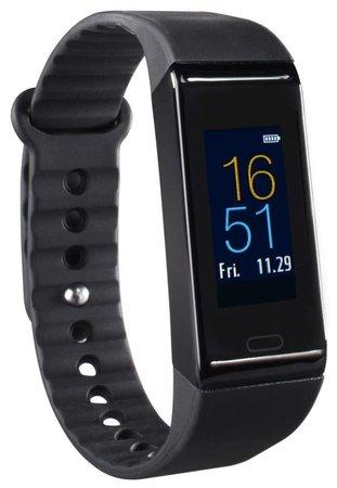 HAMA sportovní hodinky Fit Track 3900/ barevný display/ pulz/ kalorie/ analýza spánku/ krokoměr/ čer