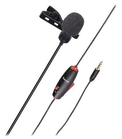 Hama klopový mikrofon Lavalier Smart, mono