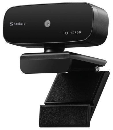 Sandberg webkamera USB Webcam Autofocus / 1080P / černá, 134-14