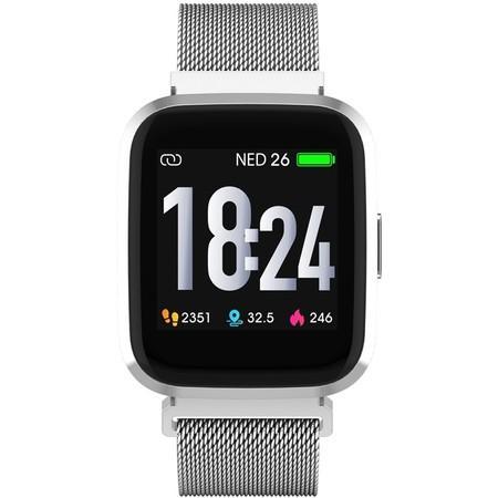 Chytré hodinky iGET FIT F30 - stoíbrné