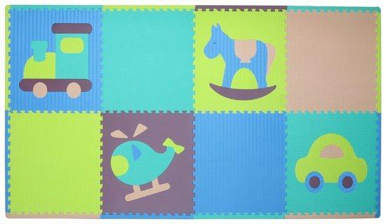 BABY GREAT Pěnové puzzle Klučičí hračky SX (60x60) s okraji