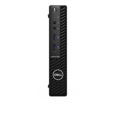 DELL OptiPlex 3080 Micro MFF/ i5-10500T/ 8GB/ 256GB SSD/ Wifi/ W10Pro/ 3Y Basic on-site, 85TV2