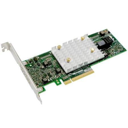 Microsemi Adaptec SmartRAID 3101E-4i Single 12Gbps SAS/SATA 4 porty int., x8 PCIe Gen 3, cache paměť 1 GB, 2304400-R