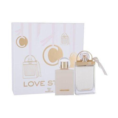 Chloé Love Story - EDP 75 ml + tělové mléko 100 ml