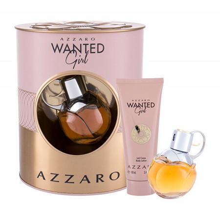 Azzaro Wanted Girl - EDP 50 ml + tělové mléko 100 ml