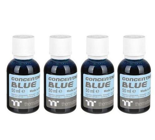 THERMALTAKE koncentrát modrá (4x 50ml) pro výrobu C1000 chladicí kapalina (Opaque Coolant, Blue, neprůhledná), CL-W163-OS00BU-A