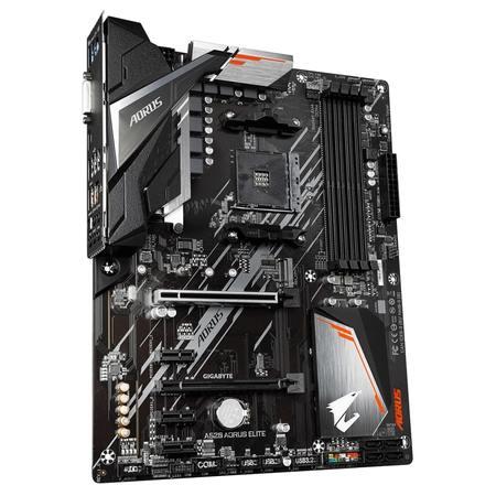 GIGABYTE MB Sc AM4 A520 AORUS ELITE, AMD A520, 4xDDR4, HDMI, DVI, A520 AORUS ELITE