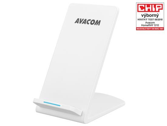 AVACOM HomeRAY S10 bezdrátová nabíječka stojánek, bílá, HomeRAY S10
