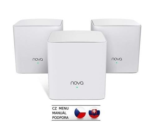 Tenda MW5c (3-pack) Nova - Wireless Mesh Gigabit Router 802.11ac/a/b/g/n,1200 Mb/s