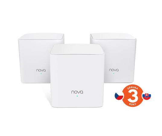 Tenda MW5c (3-pack) Nova - Wireless Mesh Gigabit Router 802.11ac/a/b/g/n,1200 Mb/s , 75011848