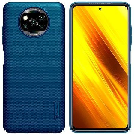 Nillkin Super Frosted Zadní Kryt pro Xiaomi Poco X3 Peacock Blue