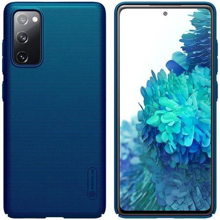 Nillkin Super Frosted Zadní Kryt pro Samsung Galaxy S20 FE Peacock Blue
