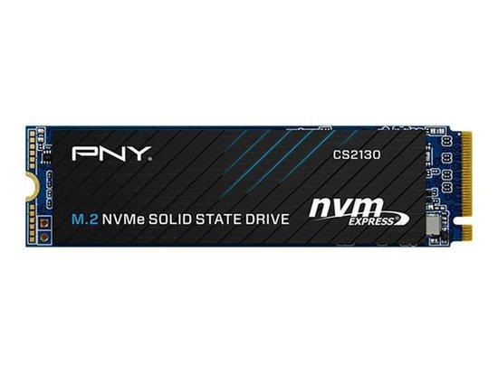 PNY SSD CS2130 500GB / Interní / M.2 / PCIe Gen 3 x 4 NVMe 1.3 / 3D NAND, M280CS2130-500-RB