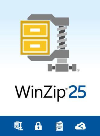 WinZip 25 Standard ML DVD, WZ25STDMLDVDEU