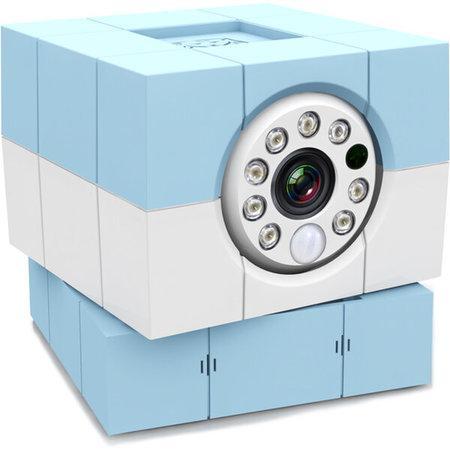 Amaryllo iBabi Plus 360 HD dětská videochůvička modrá