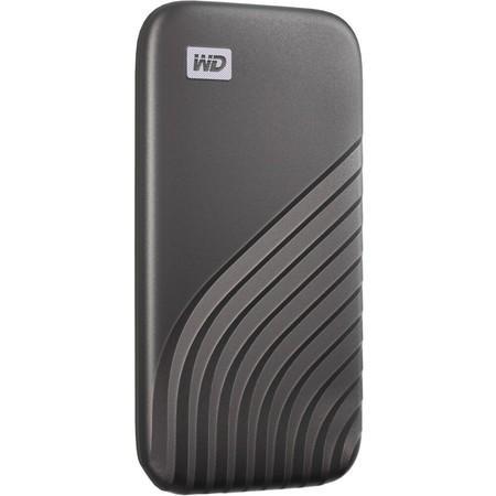 WD My Passport externí SSD 500GB vesmírně šedý, WDBAGF5000AGY-WESN