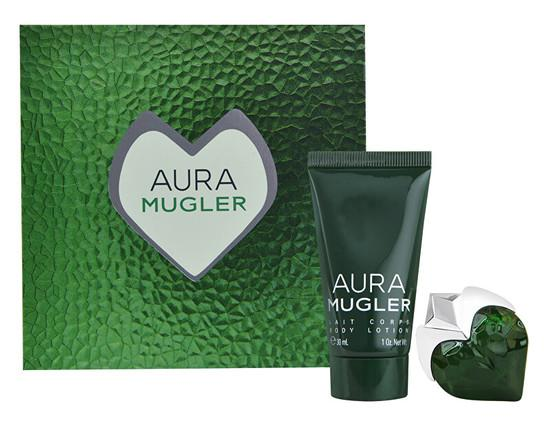 Thierry Mugler Aura Mugler - EDP 5 ml + tělové mléko 30 ml