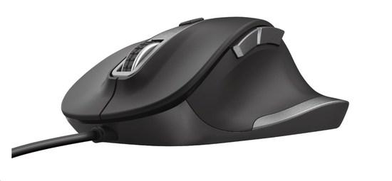 TRUST Myš Fyda Wired Comfort Mouse