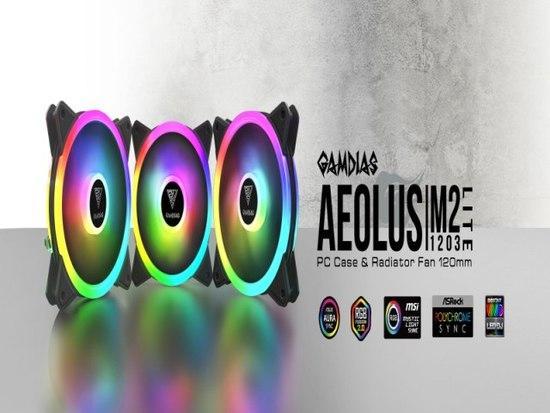 Gamdias FAN AEOLUS M2-1203 LITE, 16302-01601-00000-G