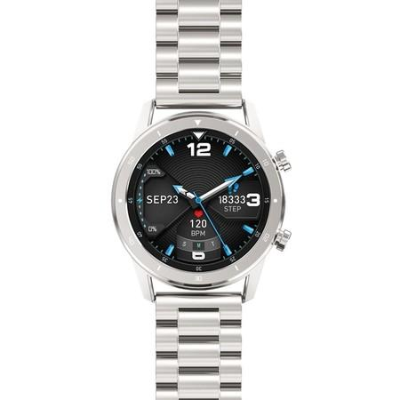 Chytré hodinky Aligator Watch Pro stříbrné
