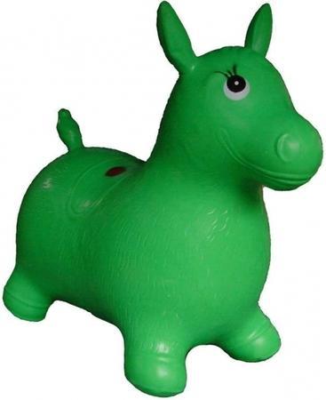 Artyk Gumový skákající oslík Edu & Fun - zelený