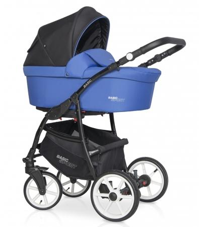 Kočárek Riko Basic Sport 2v1, 2020 - racing blue