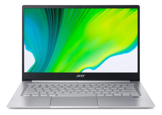 """ACER NTB Swift 3 SF314-59-76PT - 14"""" FHD,i7-1165G7@2.80GHz,16GB,1TB SSD,Iris Xe Graphics,W10H,Stříbrná, NX.A5UEC.003"""