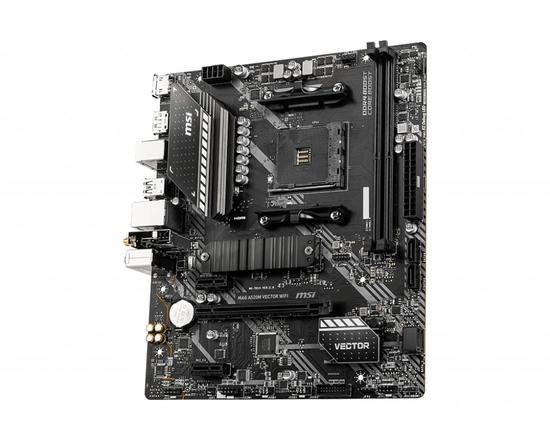 MSI MAG A520M VECTOR WIFI AM4 DDR4 1xM.2 4xSATA HDMI DP M-ATX MB, MAG A520M VECTOR WIFI
