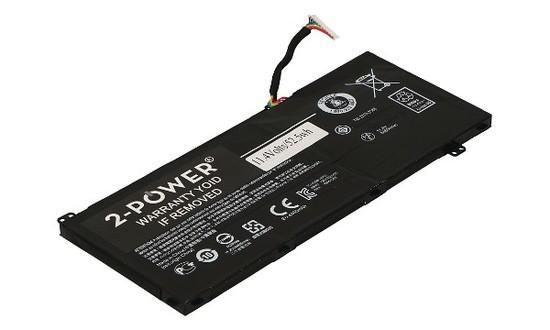 2-Power baterie pro ACER ( AC14A8L alternative ) Baterie (3 Články) 3 ?lánková Baterie do Laptopu 11,4V 4450mAh, CBP3565A