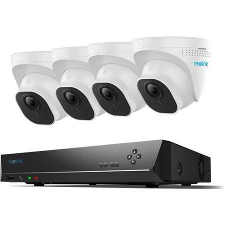Reolink RLK8-800D4 8kanálový 4K bezpečnostní kamerový videosystém PoE s 2TB HDD NVR