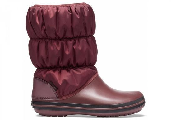 Crocs Winter Puff Boot Women 37-38 (M5/W7) / Burgundy