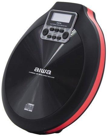 AIWA PCD-810RD/ CD/CD-R/RW MP3 přehrávač/ Černo-červený