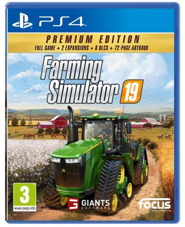PS4 - Farming Simulator 19: Premium Edition