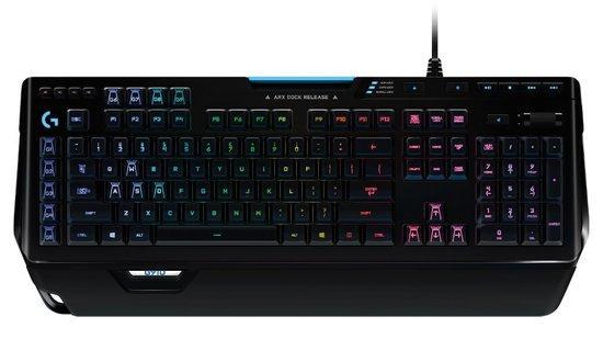 Logitech klávesnice Gaming G910 Orion Spectrum US - černá