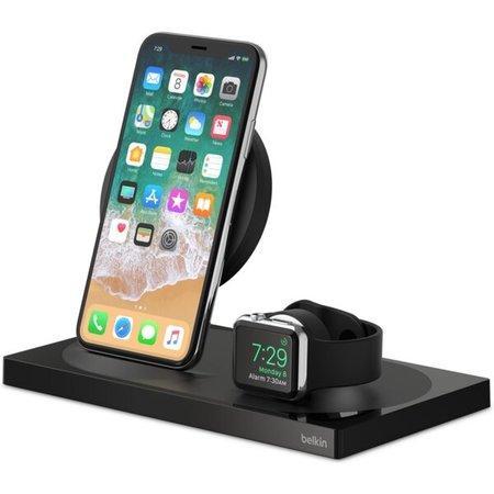 Belkin BOOST CHARGE 2v1 nabíjecí stanice 7,5W pro iPhone a Apple Watch černá