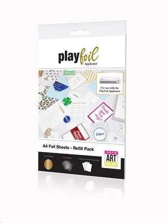 ControvARTsial Náhradní folie A4 pro PlayFoil – GOLD (24 x A4), FP-FA-CTV-3500-00