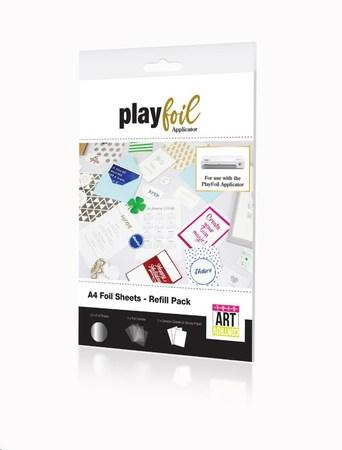 ControvARTsial Náhradní folie A4 pro PlayFoil – stříbrné (24 x A4), FP-FA-CTV-3501-00