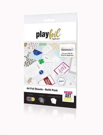 ControvARTsial Náhradní folie A4 pro PlayFoil – Multi-colour (6 x 4 x A4), FP-FA-CTV-3502-00