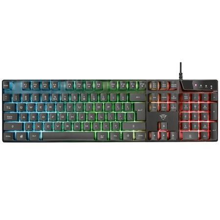 TRUST herní klávesnice GXT 835 Azor Illuminated Gaming Keyboard CZ/SK, 24166
